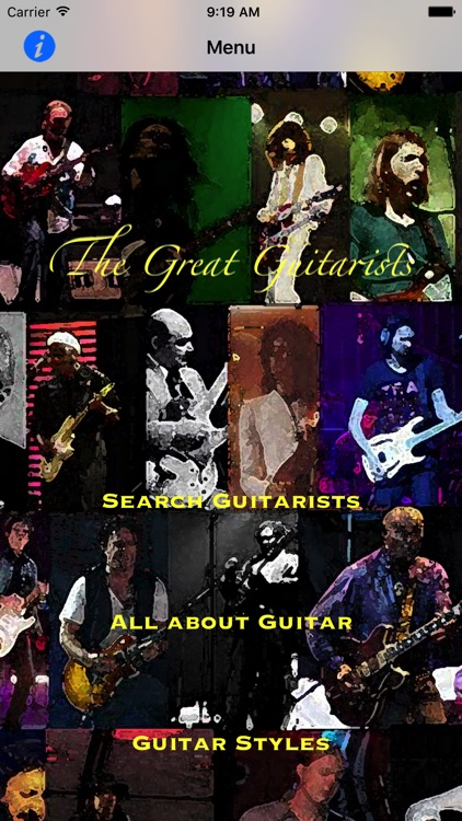 The Great Guitarists