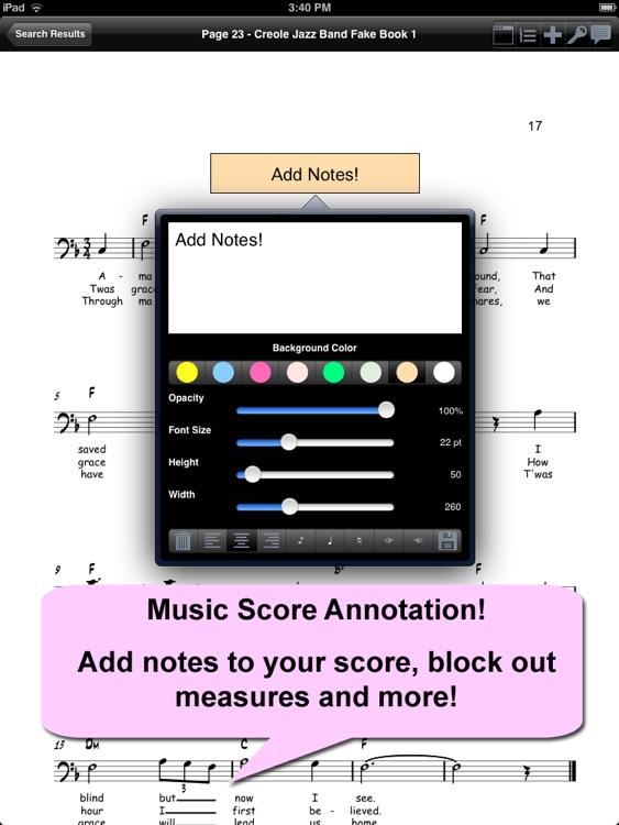 iGigBook Sheet Music Manager screenshot-3