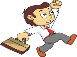 Businessman stickers by dennyranch_illustrations