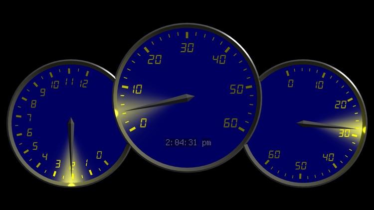 0 to 60 Speedo Clock screenshot-3