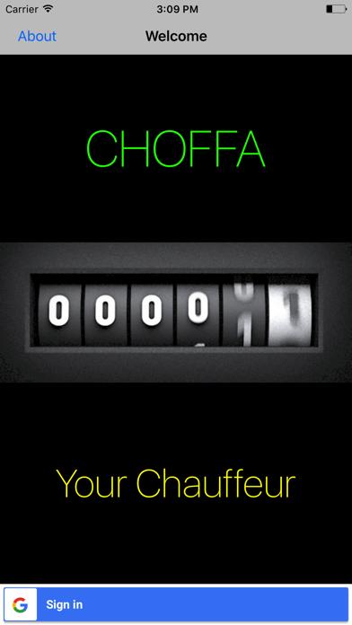 Choffa - Your personal chauffeur screenshot one