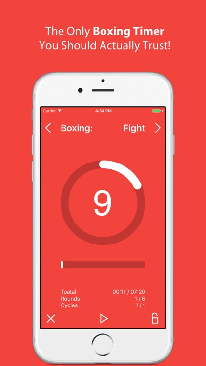 Boxiline - Boxing Timer screenshot-0