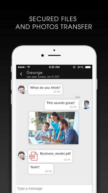 NURO Secure Messaging screenshot-3