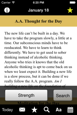 Twenty-Four Hours a Day: Recovery Meditations screenshot 3