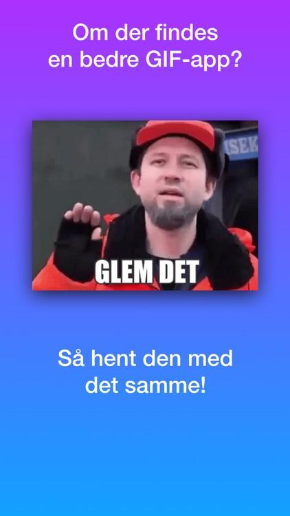 Dansk GIF- og Meme-Tastatur (Sjove Memes og GIFs) screenshot-3
