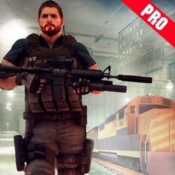 Train Hero Commando Shooter Pro