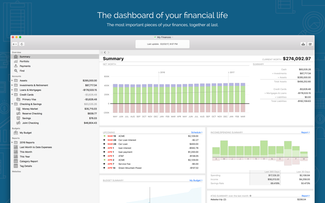 personal finances for mac