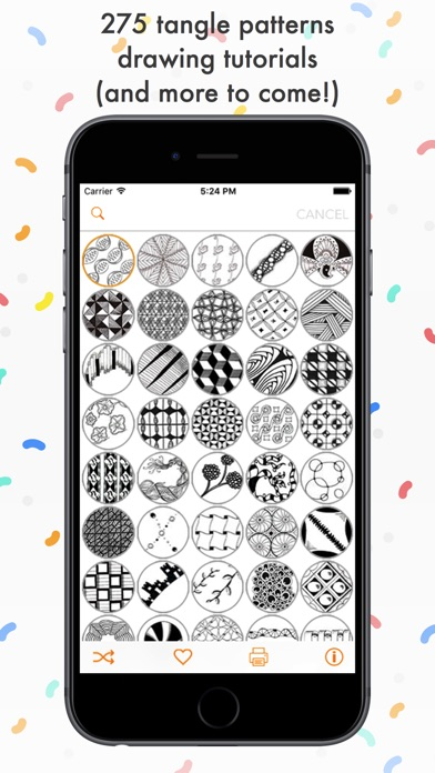 Tangle Patterns Mega Pack Screenshot