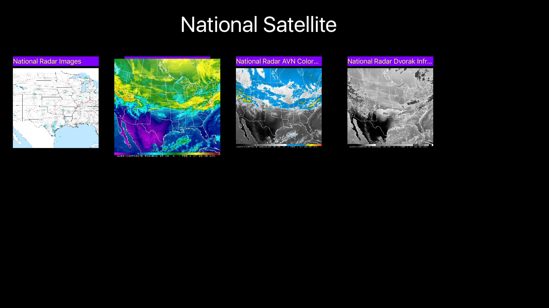 US NOAA Radars 3D screenshot 19