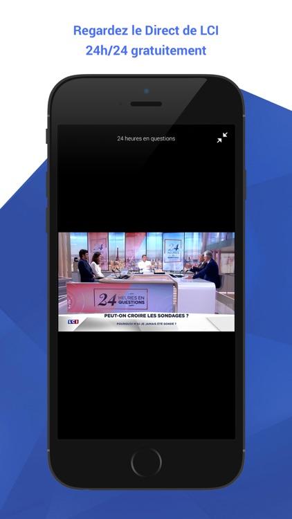 LCI, l'actualité en continu screenshot-3