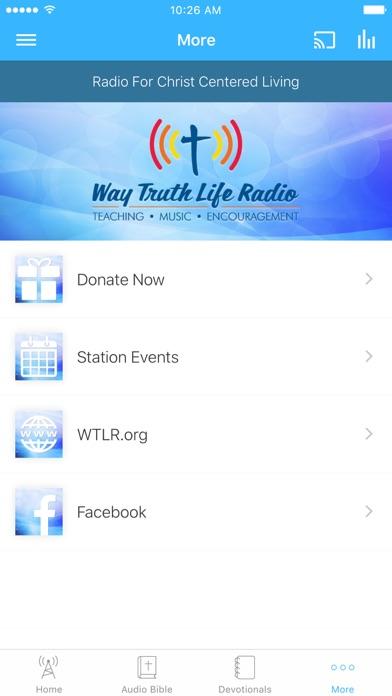 Way Truth Life Radio screenshot 3