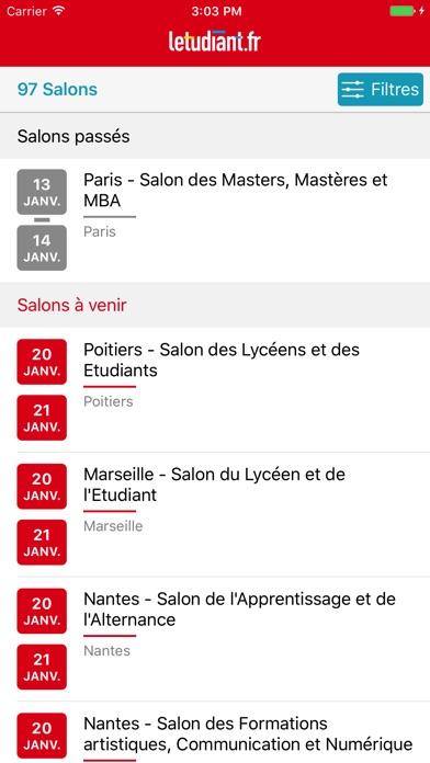 download Salons de l'Etudiant: orientation, études, métiers apps 4
