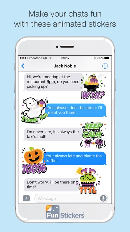 Halloween iSticker screenshot-3