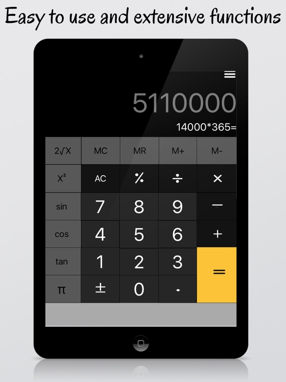 calculator for ipad free