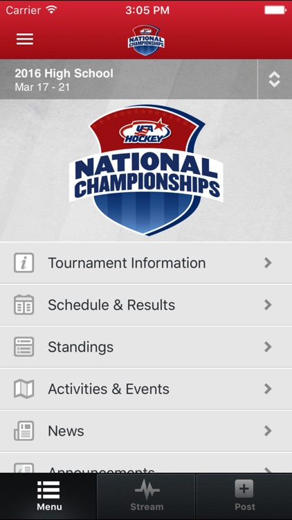 USA Hockey Youth Nationals screenshot-0