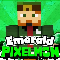 NEW EMERALD PIXELMON ADD-ONS FOR MINECRAFT PE