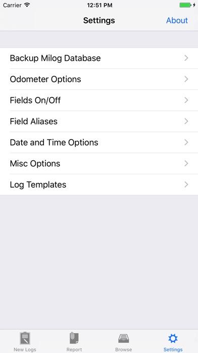 Milog - mileage log tracker screenshot four