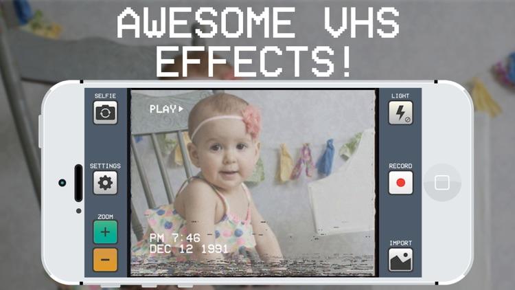 RAD VHS Camera Effects - Retro Video Camcorder