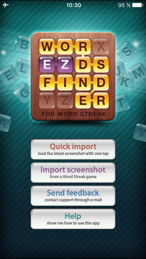EZ Words Finder - cheat for Word Streak game on the App Store