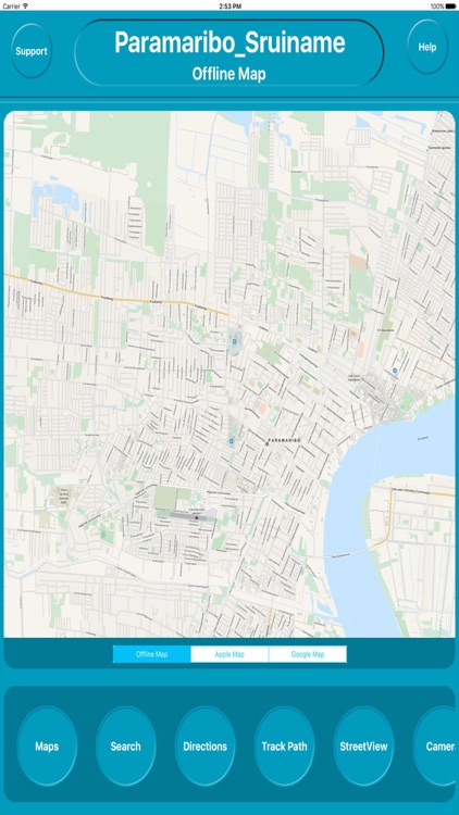 Panama City Offline City Maps with Navigation