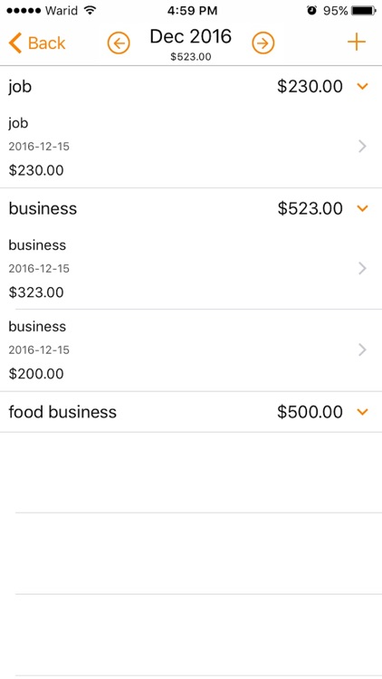 Express Expense Manager screenshot-4