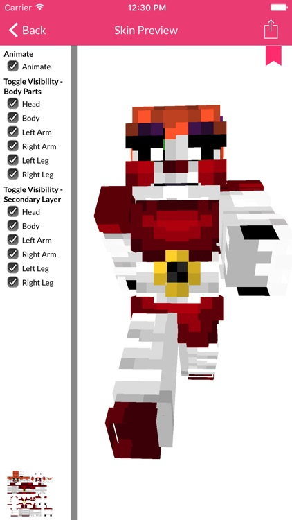 FNAF Skins For Minecraft Edition screenshot-0