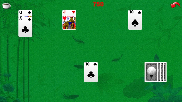 Golf Solitaire From X-ray screenshot-3