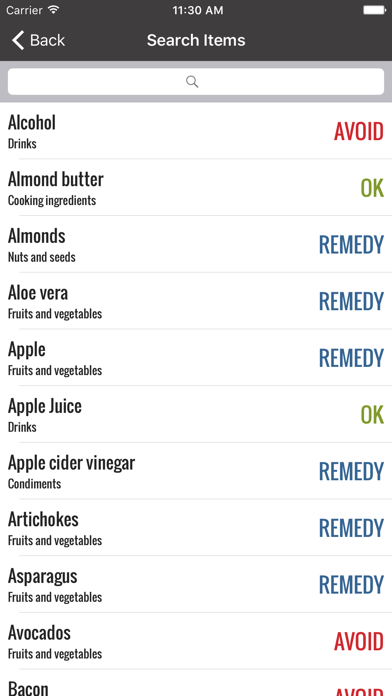 Acid Reflux Diet Helper screenshot two