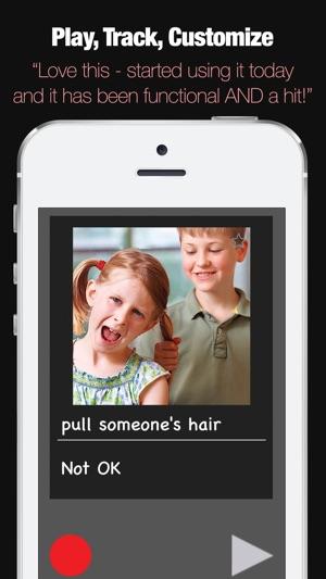 Autism Social Categories and Behaviour App