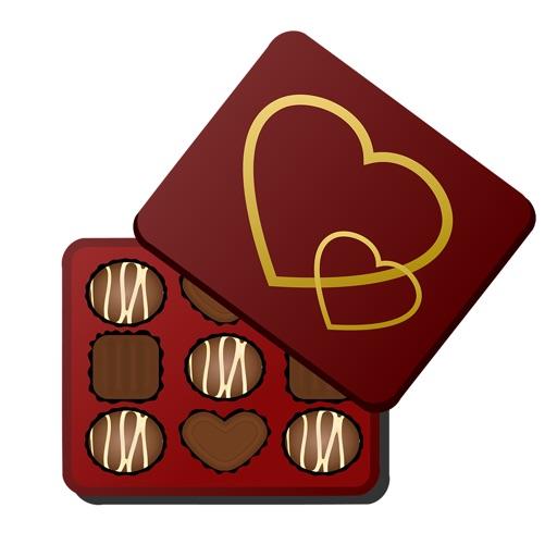 傳達巧克力的愛情