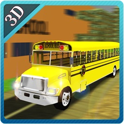 School Bus Parking- Extreme Driving Simulator