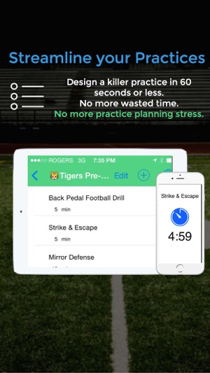 Football blueprint on the app store malvernweather Gallery