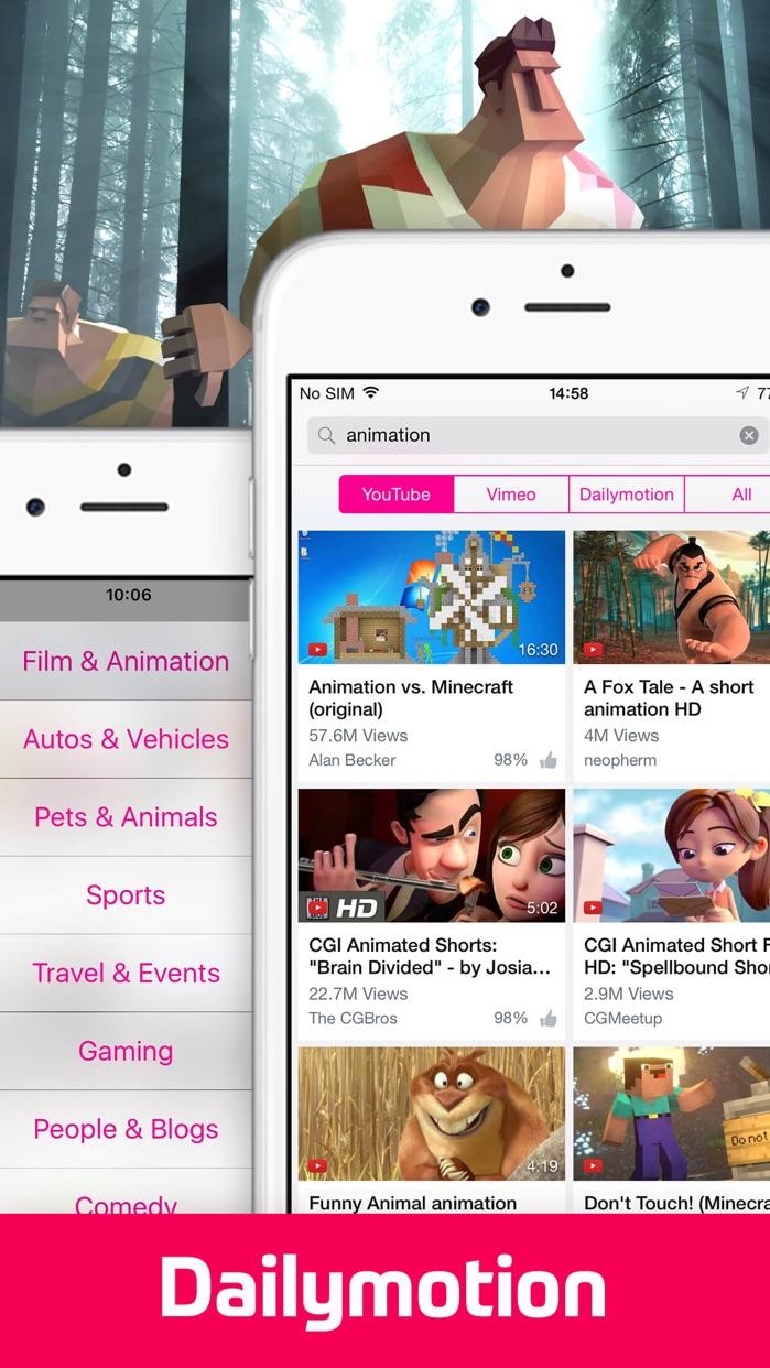 Video Tube™ - Stream and Play Screenshot