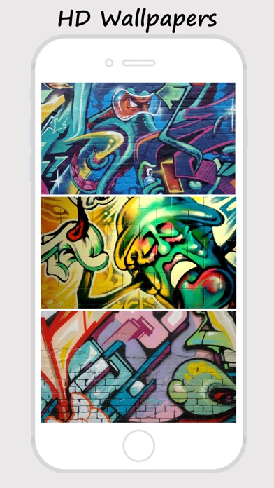 Graffiti Walls Custom Home Lock Screen Wallpapers