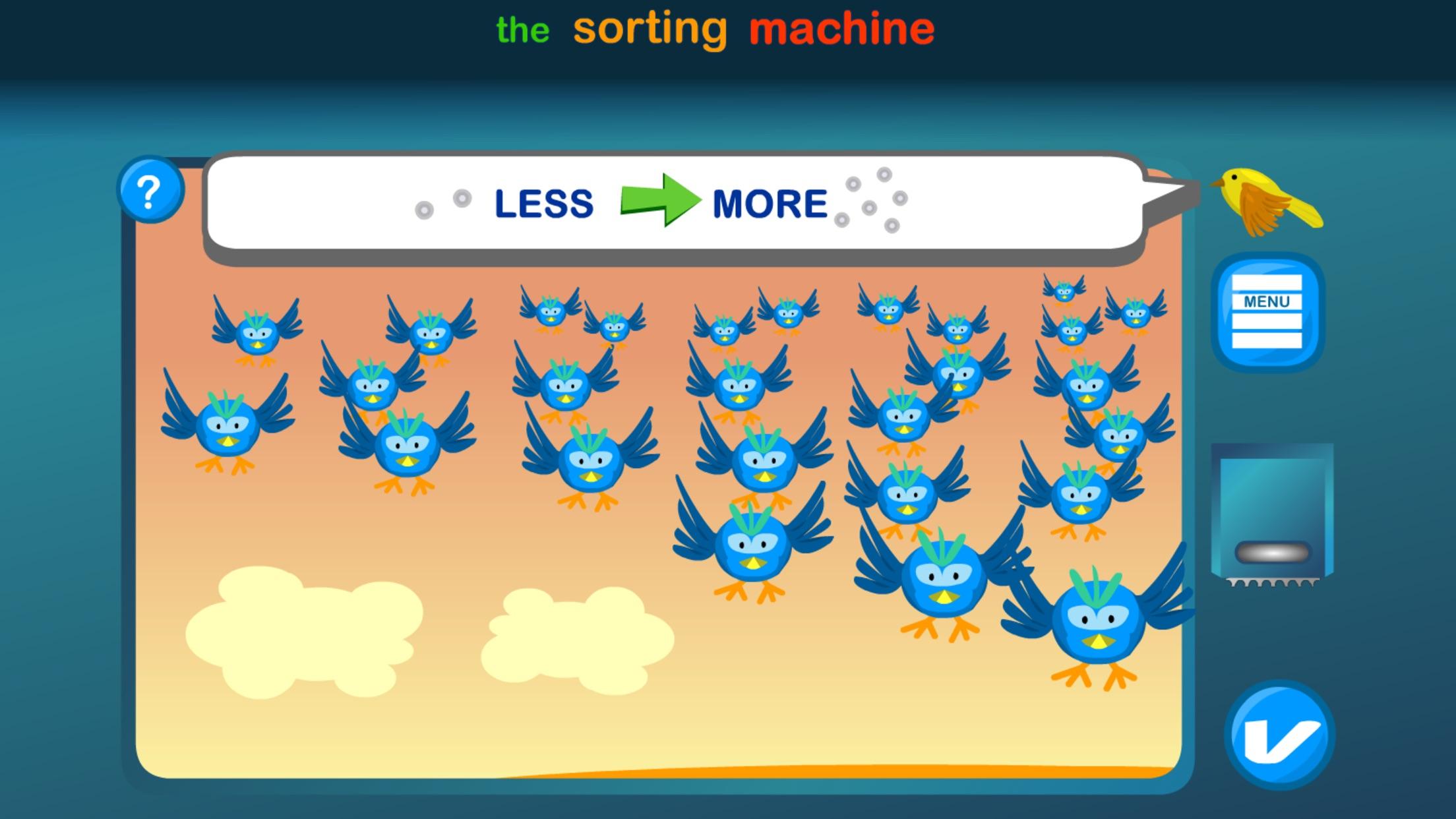 Sorting Machine Screenshot