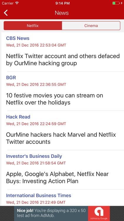 Upflix for Netflix screenshot-3