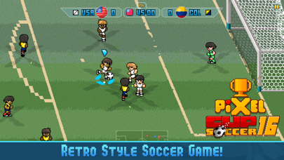 Screenshot from Pixel Cup Soccer 16