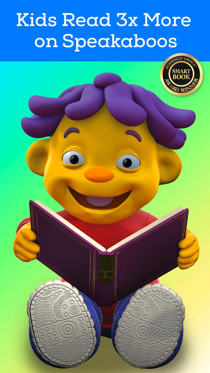 Speakaboos - Kids Reading App Screenshot