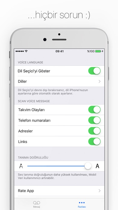 Screenshot for Textify - Dinlemek yerine okun in Turkey App Store