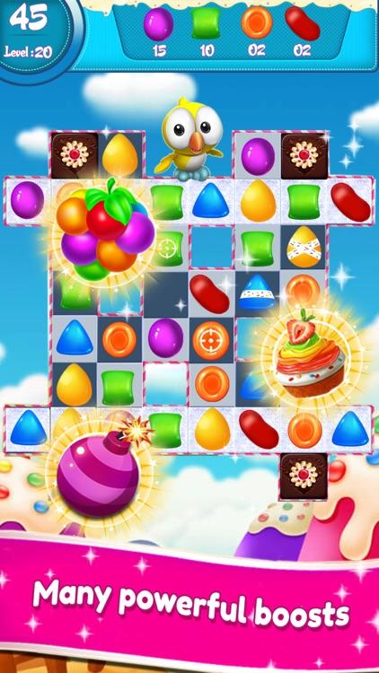 Candy Sweet Match 3 screenshot-3