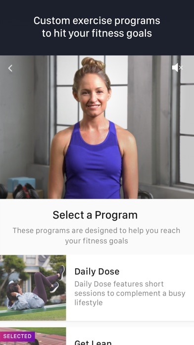 Fitstar Personal Trainer app image
