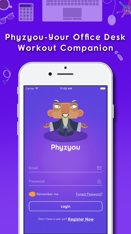 PhyzYou - Easy Desk Workout & Quick Exercises
