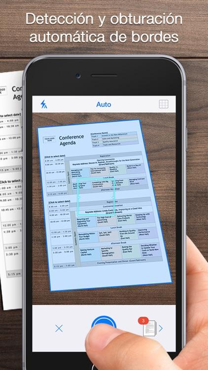 iScanner - escaner PDF y doc scanner. screenshot-0