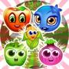 果物の友人とマッチのパズル - iPhoneアプリ