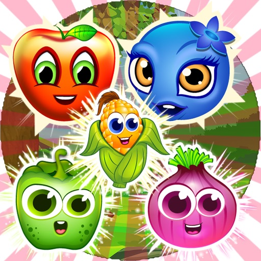 fruit friends and puzzles with matches