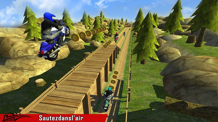 Motor-Bike Racing Endless Race: Crazy Moto Rally screenshot-4