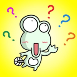 Funny Green Toad - Super Stickers!!