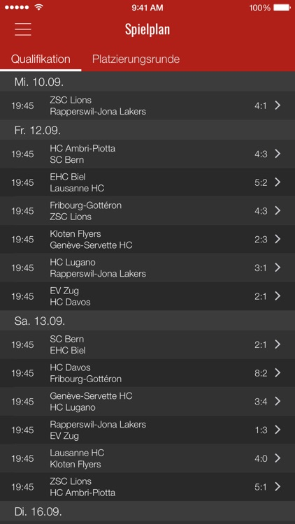HockeyInfo screenshot-2