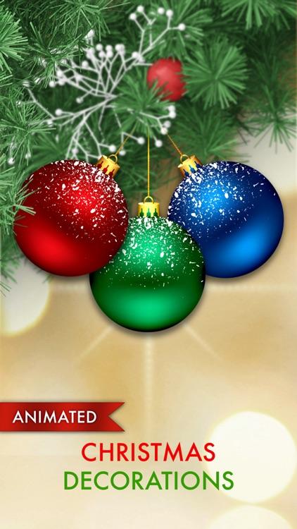 Animated Christmas Ball Decorations
