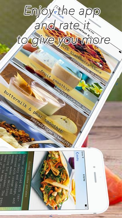 diabetes cookbook diabetic recipes and meals screenshot-4